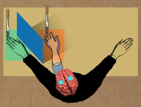 La ilusión de la mano de goma ajena. Imagen obtenida de: https://anilkseth.files.wordpress.com/2019/04/rhi.png?w=560